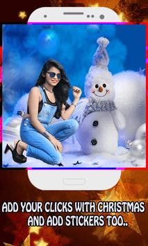 Chirstmas Profile Photo Frame Maker poster