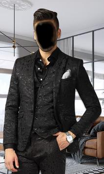 Men Stylish Photo Suit screenshot 2