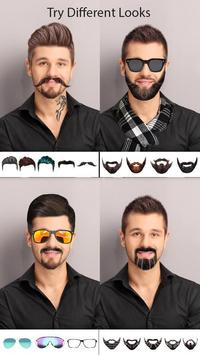 Man Photo Editor : Man Hair style ,mustache ,suit screenshot 12