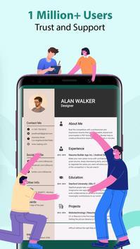 Resume Builder & CV Maker - PDF Template Editor screenshot 4