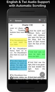 Twi & English Bible 海報