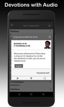 Twi & English Bible screenshot 1