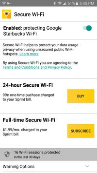Secure WiFi poster