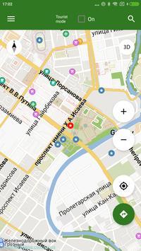 Mapa de Grozny offline captura de pantalla 1