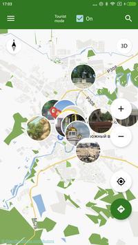 Mapa de Grozny offline captura de pantalla 3