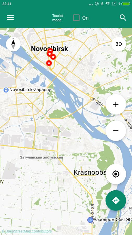 Karte Von Novosibirsk Offline Fur Android Apk Herunterladen