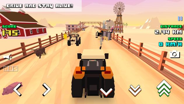 Blocky Farm Racing 截圖 16