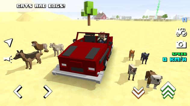 Blocky Farm Racing 截圖 21
