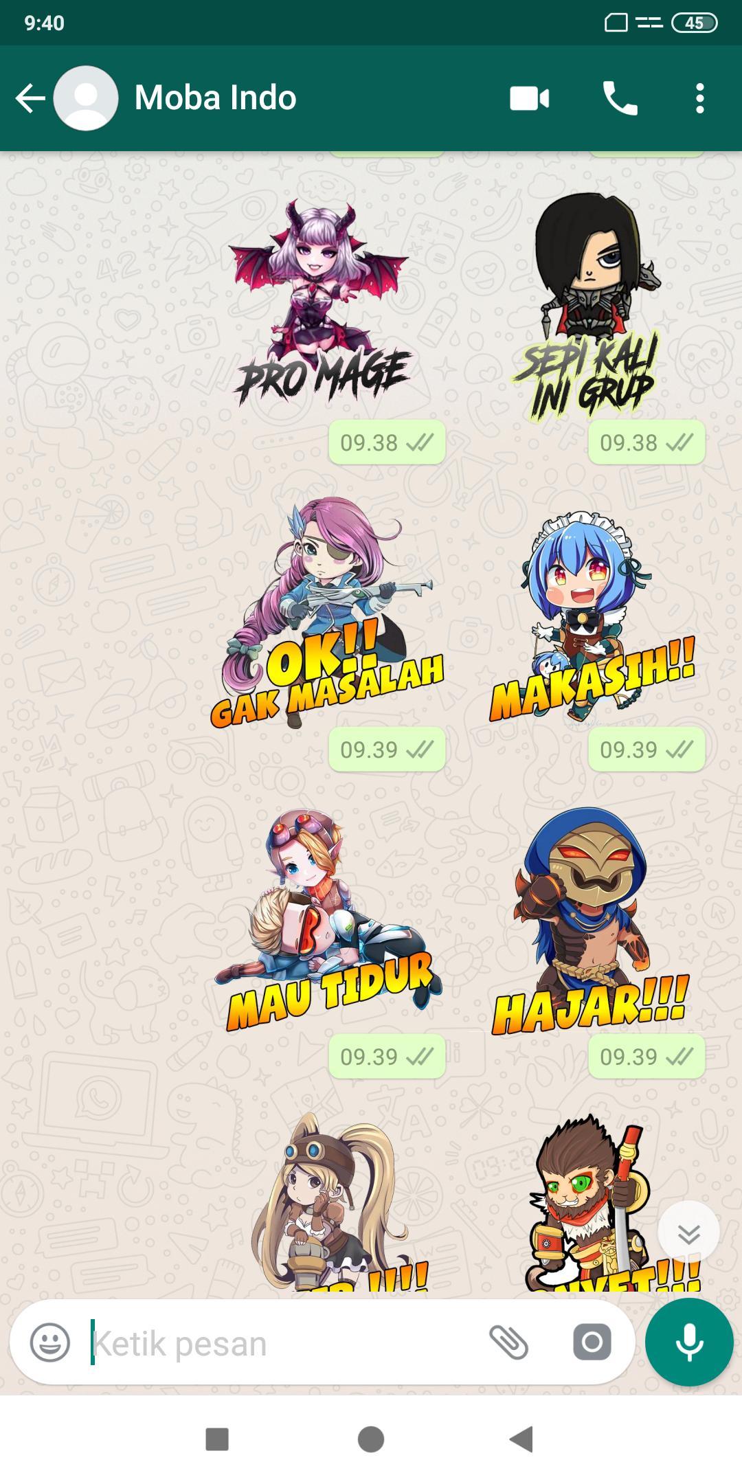 98 Gambar Stiker Mobile Legends Gratis Terbaru