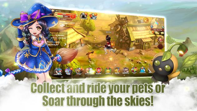 Flyff Legacy - Anime MMORPG - Free MMO Action RPG screenshot 2