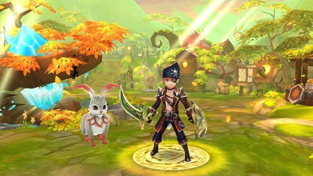 フリフレガシー:アニメ MMORPG スクリーンショット 6