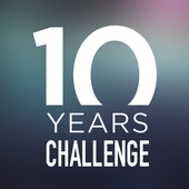 10 Years Challenge icon