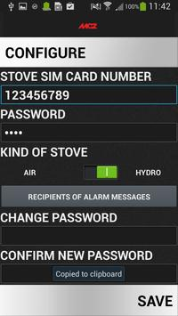 MCZ SMS screenshot 1