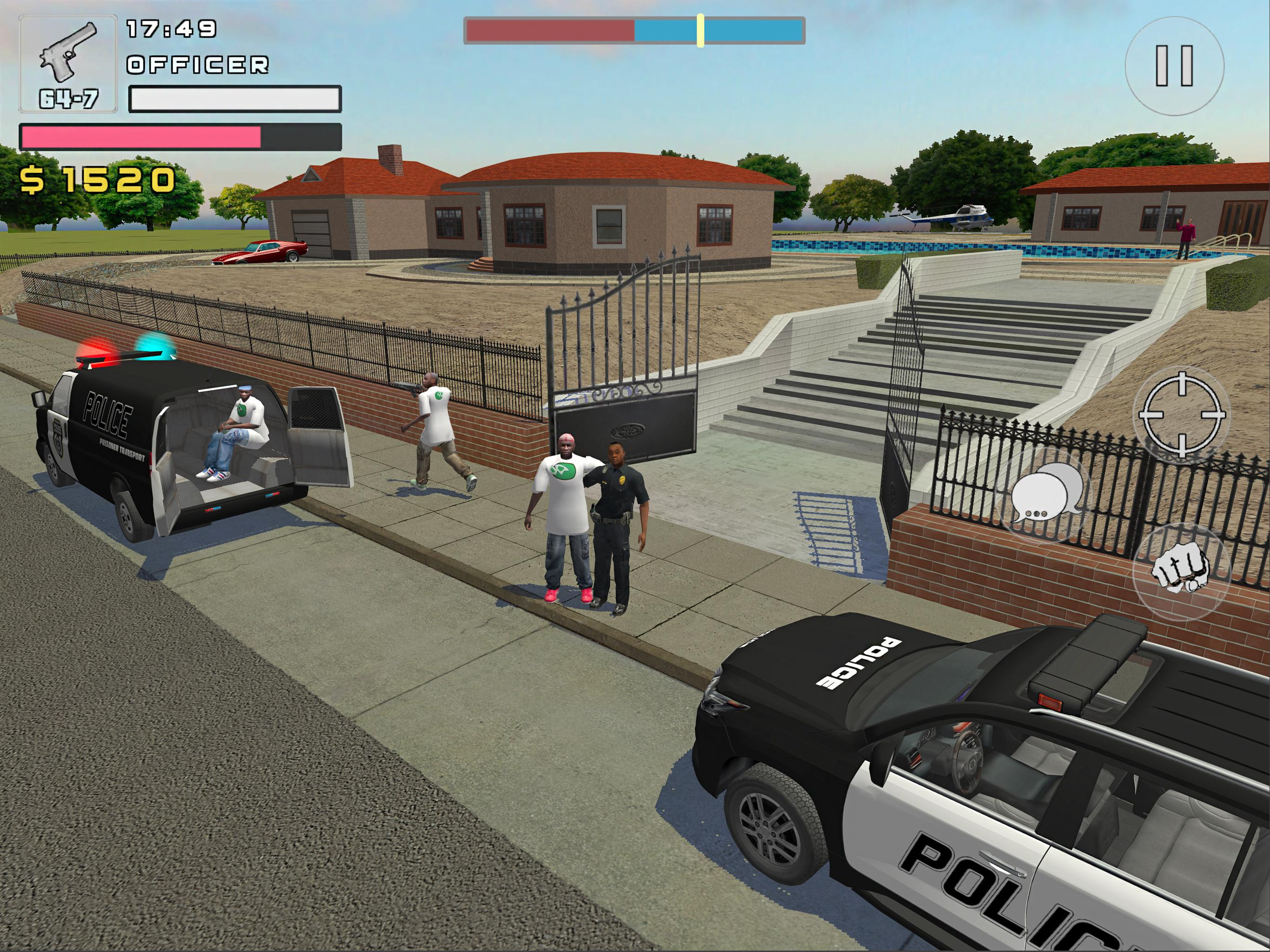 Police Cop Simulator Gang War For Android Apk Download