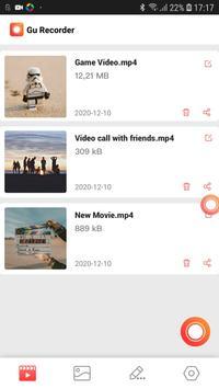 مسجل الشاشة مع الصوت ، لقطة شاشة واضحة تصوير الشاشة 6