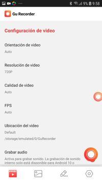 Grabador de Pantalla con Sonido captura de pantalla 7