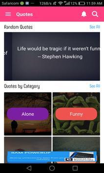 Quotes screenshot 1
