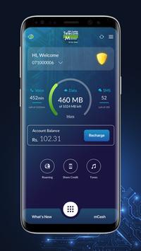 Mobitel Selfcare poster