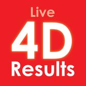 Keputusan 4D Live ikon