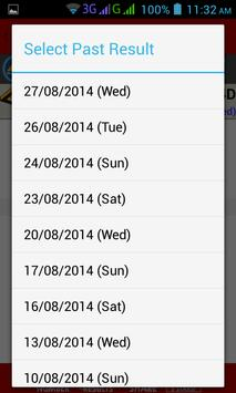 Live 4D Results screenshot 4
