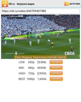 OK.ru Video Downloader screenshot 9