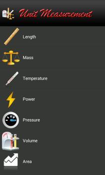 Unit Measurement screenshot 1