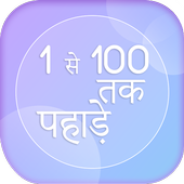 1 से 100 तक पहाड़े - Multiplication Tables 1- 100 icon