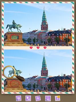 Find the Differences Quiz Planet: Scandinavia screenshot 9
