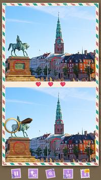 Find the Differences Quiz Planet: Scandinavia screenshot 1