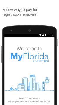 MyFlorida poster