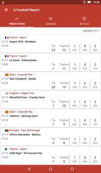 Football Tips & Stats - A Football Report تصوير الشاشة 5