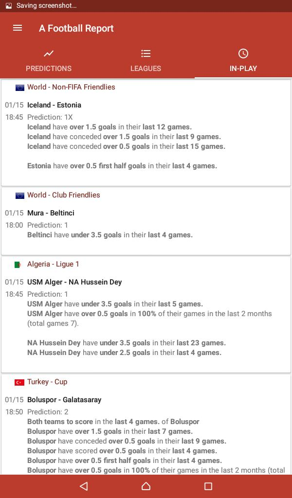 Football Tips & Stats - A Football Report for Android - APK