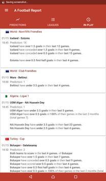Football Tips & Stats - A Football Report تصوير الشاشة 6