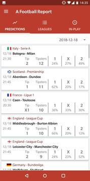 Football Tips & Stats - A Football Report screenshot 2