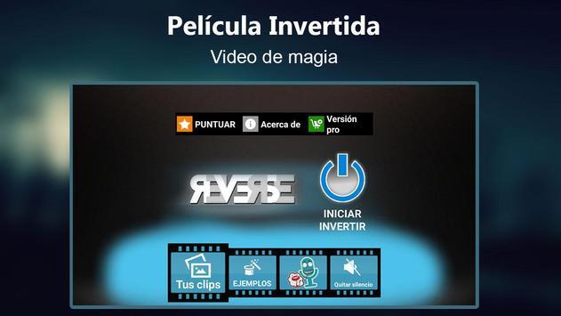 Película Invertida video magia captura de pantalla 2
