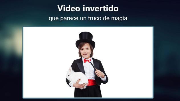 Película Invertida video magia captura de pantalla 3