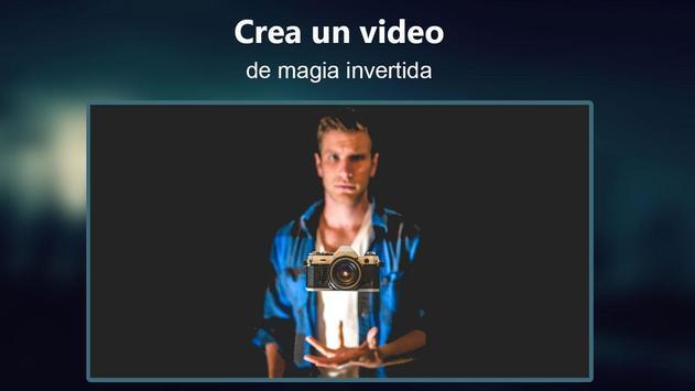 Película Invertida video magia captura de pantalla 6