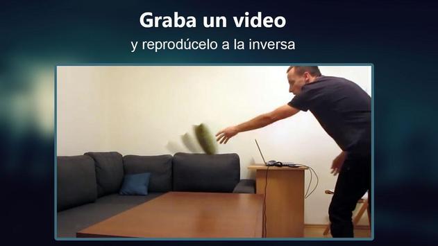 Película Invertida video magia captura de pantalla 9