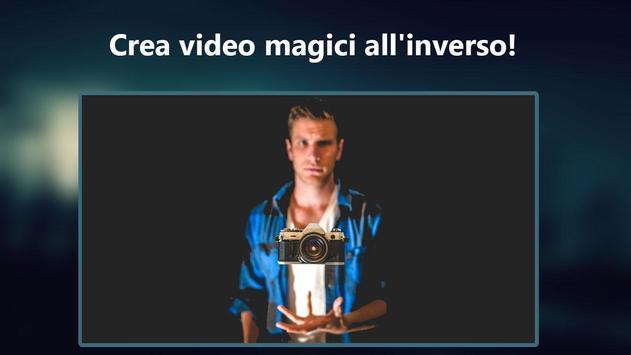 Poster Film all'inverso: video magici