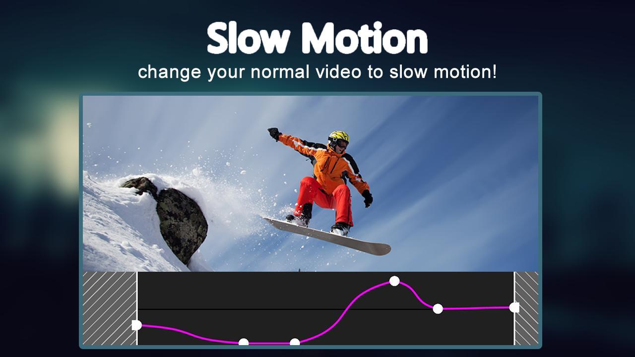 Aplikasi komunikasi Slow Motion Video FX