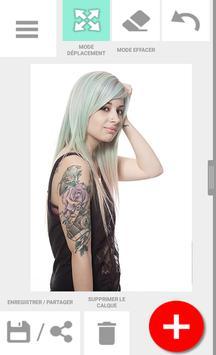 Tattoo my Photo Affiche