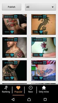 Tattoo my Photo screenshot 5