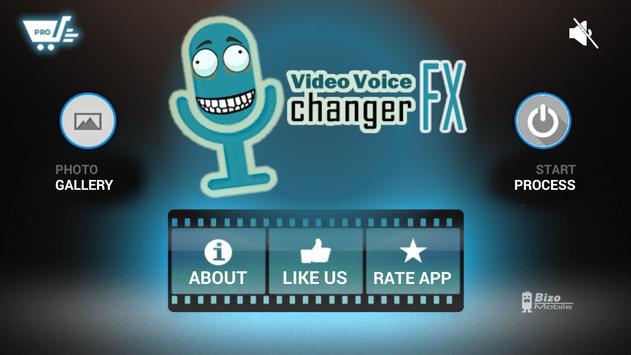 Video Voice Changer تصوير الشاشة 3