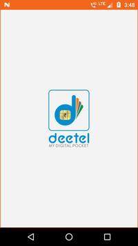 Deetel Recharge poster