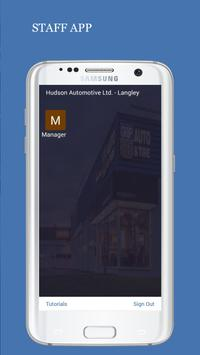 Hudson Automotive Back Office App screenshot 1