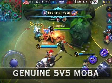 Mobile Legends: Bang Bang capture d'écran 5