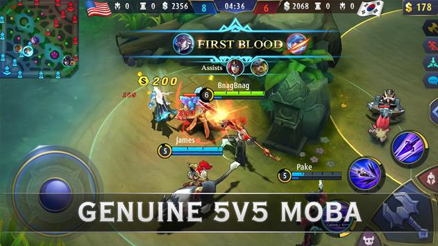 Mobile Legends: Bang Bang постер