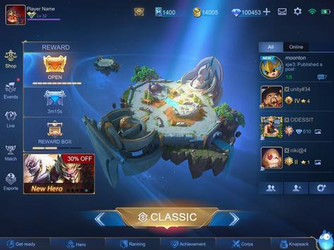 Mobile Legends: Bang Bang تصوير الشاشة 23
