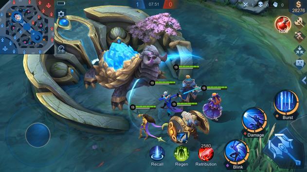 Mobile Legends: Bang Bang captura de pantalla 6