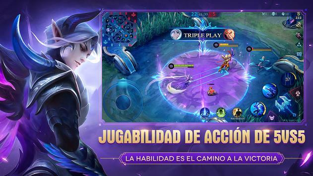 Mobile Legends: Bang Bang captura de pantalla 1